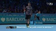 Masters 2014: l'incident complet entre Stan Wawrinka et Mirka Federer