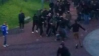 Bagarre entre hooligans avant Schalke - Bayern