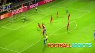 Le rouleau du gardien de Leverkusen