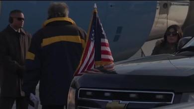 Ankunft des US-Vizepräsidenten Joe Biden in Zürich