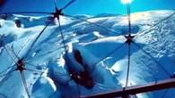 Schweizer Spezialdrohne auf Gletscherflug