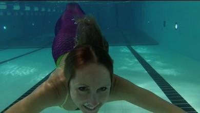 Plongée dans un cours de sirènes
