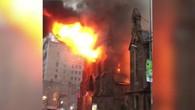 Feuerhölle in New Yorker Kirche