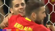 Le 3-0 de Morata contre la Turquie