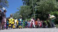 Les classes enfantines défilent à Lausanne