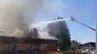 Le toit de la salle de gym de Le Vaud s'effondre