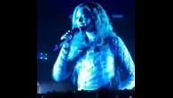 Beyoncé a exprimé son émotion sur scène