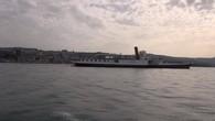Le bateau l'Italie retrouve le Léman