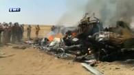 Hubschrauber wirft Fässer mit giftigem Gas in Syrien ab
