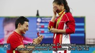 Une demande en mariage au pied du podium (II)