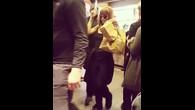 Rihanna au Macdo à Zurich (2)