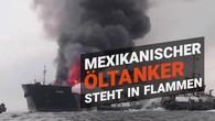 Feuer auf Öltanker