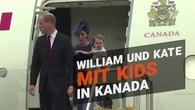 Ankunft der britischen Royals in Kanada