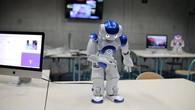 Le robot Nao se présente
