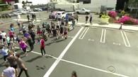 James Corden a affronté Usain Bolt au 100 mètres