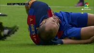 La blessure d'Iniesta