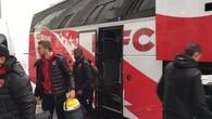 L'arrivée du FC Sion à la Pontaise