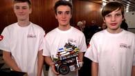 Zürcher Schüler beim Roboter-Weltfinale in Indien