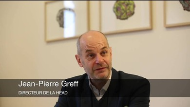 Interview de Jean-Pierre Greff, directeur de la HEAD