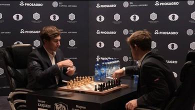 Echecs: Carlsen et Kariakine se départagent au tie-break
