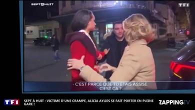 Miss France 2017 se fait porter par un policier
