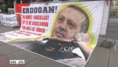 Manifestation contre Erdogan à Genève (12.01.2017)