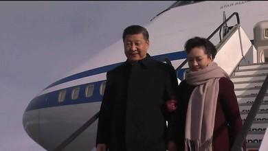 Chinas Präsident Xi Jinping in Zürich gelandet