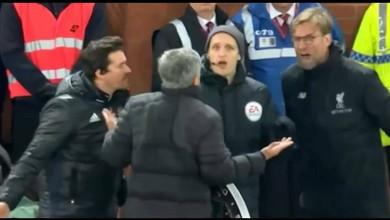 Quand Klopp apostrophe Mourinho