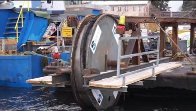 Kabel im Zürichsee wird geborgen