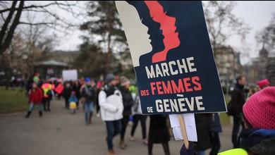 2000 personnes marchent à Genève pour la tolérance et contre Trump