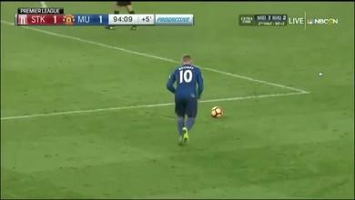 Un coup franc et le record pour Rooney
