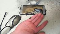 Smartphone brennt wegen Batterie