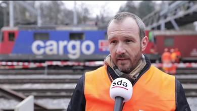 SBB-Sprecher Reto Schärli zum tragischen Unfall
