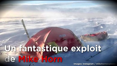 Un exploit de Mike Horn