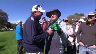 Bill Murray golfeur fâché