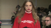 Mit Mode gegen Trump protestieren
