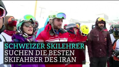Schweizer bilden Skilehrer im Iran aus