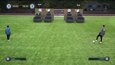 Chelsea joue à FIFA 17