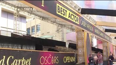 Vorbereitungen für die Oscar-Verleihung auf Hochtouren