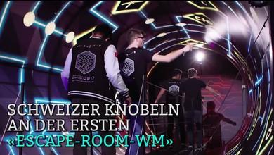 ETH-Studenten knobeln an erster «Escape-Room-WM»