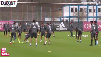 Ribéry humilié à l'entraînement