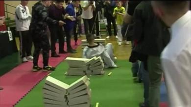Mit seinem Dickschädel zum Weltrekord