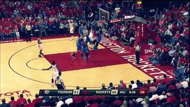 Le dunk monstrueux de Capela devant Westbrook