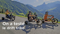 On a testé le drift trike