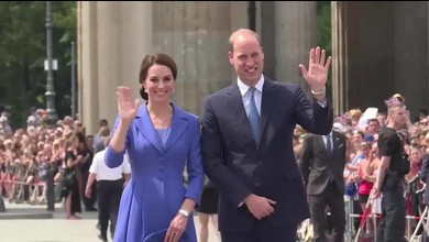 Jubel für Kate und William in Berlin
