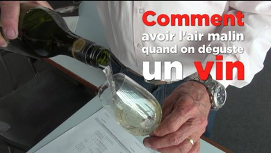 Comment avoir l'air malin quand on goûte du vin