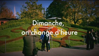 Dimanche, on change d'heure