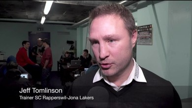 Lakers-Trainer Jeff Tomlinson nach dem Cup-Sieg im Interview