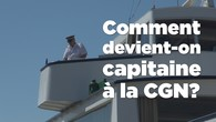 Comment devient-on capitaine à la CGN?