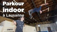 Parkour indoor à Lausanne